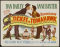 "Movie Posters:Comedy, A Ticket to Tomahawk (20th Century Fox, 1950). Title Lobby Card(11"" X 14""). Comedy...."