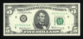 Small Size:Federal Reserve Notes, Fr. 1970-H $5 1969A Federal Reserve Note. Gem Crisp Uncirculated.. ...