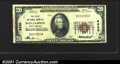 National Bank Notes:West Virginia, First National Bank of Williamson, WV, Charter #6830. 1929 $20 ...