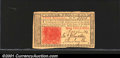 Colonial Notes:New Jersey, March 25, 1776, 3s, New Jersey, NJ-177, AU. An excellent exampl...