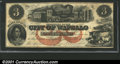 Obsoletes By State:Iowa, 1857 $3 City of Wapello, IA, XF. You may bid on this lot using ...