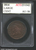 Additional Certified Coins: , 1814 1C Plain 4, BN