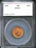 Additional Certified Coins: , 1870 1C, RD