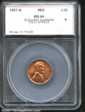 Additional Certified Coins: , 1927-D 1C, RD