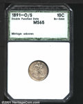 Additional Certified Coins: , 1891-O 10C