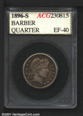 Additional Certified Coins: , 1896-S 25C