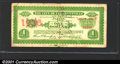 Miscellaneous:Scrip, 1936 $1 City of Pleasantville, NJ, Fine, cancelled. You may bid...