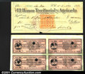 Miscellaneous:Checks, El Banco Territorial y Agricola, 1912 check for $50, VF, there ...