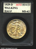 Additional Certified Coins: , 1929-D 50C