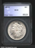 Additional Certified Coins: , 1890-CC S$1