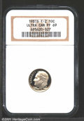 Proof Roosevelt Dimes: , 1981-S 10C TYPE 2, DC