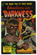 Golden Age (1938-1955):Horror, Adventures Into Darkness #9 (Standard, 1953) Condition: FN/VF....