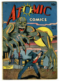 Golden Age (1938-1955):Horror, Atomic Comics #2 (Green Publishing Co., 1946) Condition: VG+....