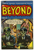 Golden Age (1938-1955):Horror, The Beyond #25 (Ace, 1954) Condition: FN/VF....