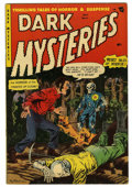 Golden Age (1938-1955):Horror, Dark Mysteries #14 (Master Publications, 1953) Condition: ApparentFN+....