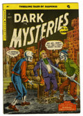 Golden Age (1938-1955):Horror, Dark Mysteries #20 (Master Publications, 1954) Condition: VG/FN....