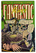 Golden Age (1938-1955):Horror, Fantastic Fears #5 (Farrell, 1954) Condition: VG+....