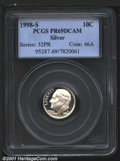 Proof Roosevelt Dimes: , 1998-S 10C Silver, DC