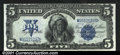 Large Size:Silver Certificates, 1899 $5 Silver Certificate, Fr-279, Choice-Gem CU. Our grading ...