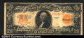 Large Size Gold Certificates:Large Size, 1922 $20 Gold Certificate, Fr-1187, Fine. This note is solid fo...