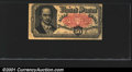 Fractional Currency: , 1874-1876 50c Fifth Issue, Crawford, Fr-1381, VF. A problem-fre...