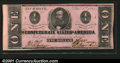 Confederate Notes:1862 Issues, 1862 $2 Judah P. Benjamin, T-54, AU. You may bid on this lot us...