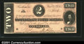 Confederate Notes:1864 Issues, 1864 $2 Judah P. Benjamin, T-70, CU. You may bid on this lot us...