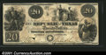 Miscellaneous:Republic of Texas Notes, 1840 $20 Republic of Texas, Cr-A6, VF-XF, CC. You may bid on th...