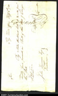 Miscellaneous:Checks, 1781 Connecticut fiscal document, 25 pounds, VF. You may bid on...