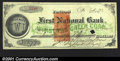 Miscellaneous:Checks, 1872 check from the First National Bank, Portland, ME, XF. You ...