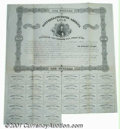 Miscellaneous:Stocks and Bonds, Confederate States of America bond, December 10, 1862, $100, Fi...