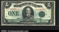 Miscellaneous:Other, 1923 $1 Canada, VF-XF. You may bid on this lot using the full c...