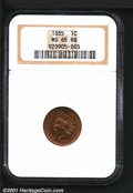 Indian Cents: , 1885 1C, RB