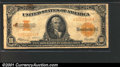 Large Size Gold Certificates:Large Size, 1922 $10 Gold Certificate, Fr-1173, VG. This note has the body ...