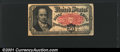Fractional Currency: , 1874-1876 50c Fifth Issue, Crawford, Fr-1381, Fine. There is a ...