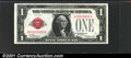 Small Size:Legal Tender Notes, 1928 $1 Legal Tender Note, Fr-1500, Choice CU. A well centered ...