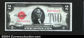 Small Size:Legal Tender Notes, 1928-C $2 Legal Tender Note, Fr-1504, CU. You may bid on this l...