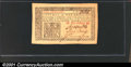 Colonial Notes:New Jersey, March 25, 1776, 1s, New Jersey, NJ-175, CU. A lovely example of...