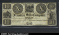 Obsoletes By State:Ohio, $10 Franklin Silk Company, Franklin, OH, CU. You may bid on thi...