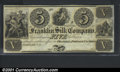 Obsoletes By State:Ohio, $5 Franklin Silk Company, Franklin, OH, Choice CU. You may bid ...