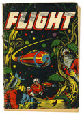 Golden Age (1938-1955):Science Fiction, Captain Flight #11 (Four Star, 1947) Condition: GD-....