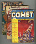Pulps:Science Fiction, Miscellaneous Sci Fi Pulps Group (Various Publishers, 1932-51)Condition: Average VG.... (Total: 9)