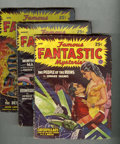 Pulps:Science Fiction, Famous Fantastic Mysteries Group (Frank A. Munsey Co., 1940-49)Condition: Average VG.... (Total: 19)