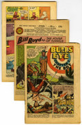 Golden Age (1938-1955):Miscellaneous, Miscellaneous Coverless Golden Age Comics Group (Various, 1949-1954).... (Total: 31)