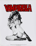 Memorabilia:Comic-Related, Vampirella Limited Edition Poster 42/500 (Warren Publication, 1976). Gorgeous Vampi limited edition poster by Jose Gonzalez....