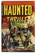 Golden Age (1938-1955):Horror, Haunted Thrills #5 (Farrell, 1953) Condition: VG+....