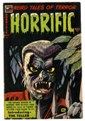Golden Age (1938-1955):Horror, Horrific #8 (Harwell, 1953) Condition: FN+....