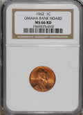 Lincoln Cents: , 1962 1C MS66 Red NGC. NGC Census: (196/10). PCGS Population(200/5). Mintage: 609,263,040. Numismedia Wsl. Price for NGC/PC...