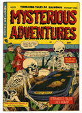 Golden Age (1938-1955):Horror, Mysterious Adventures #9 (Story Comics, 1952) Condition: FN....