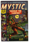 Golden Age (1938-1955):Horror, Mystic #17 (Atlas, 1953) Condition: FN+....